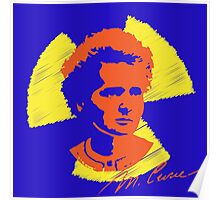 Frock Star Marie Curie Poster