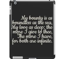 Both are infinite iPad Case/Skin
