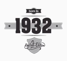 Born in 1932 Kids Clothes