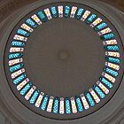 Stained Glass Circle by phil decocco