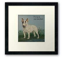 Forgive One Another Framed Print