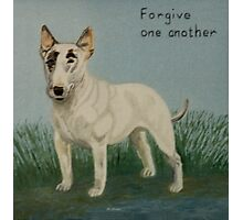 Forgive One Another Photographic Print