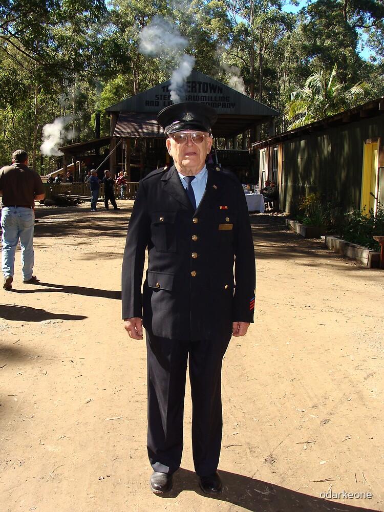 Retired Fireman by odarkeone