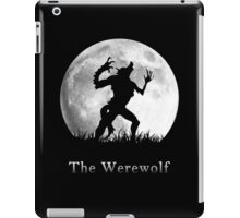 Werewolf at the Full Moon iPad Case/Skin