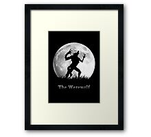 Werewolf at the Full Moon Framed Print