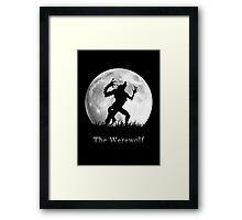 Werewolf at the Full Moon Framed Print