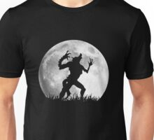Werewolf at the Full Moon Unisex T-Shirt