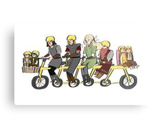 Fellowship bike Metal Print
