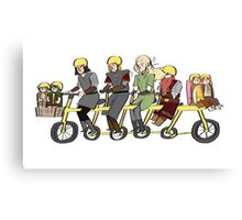 Fellowship bike Canvas Print