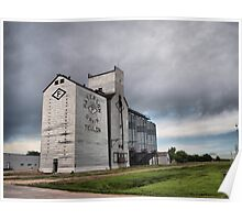 patterson grain elevator teulon Poster