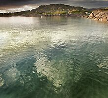 Clear Green Sea, Ardtoe. by maxblack