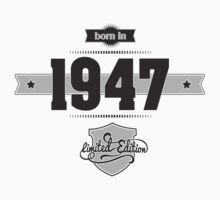 Born in 1947 Kids Clothes