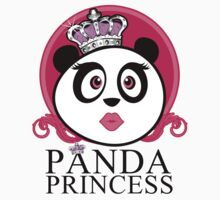 Panda Princess One Piece - Short Sleeve