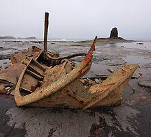 The Wreck Admiral Von Tromp at Saltwick Bay by Paul Bettison