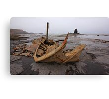 The Wreck Admiral Von Tromp at Saltwick Bay Canvas Print
