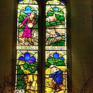 Window All Saints Church- Hawnby #4 by Trevor Kersley