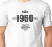 Born in 1950 Unisex T-Shirt