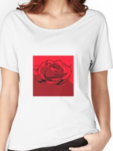 The Rose Women's Relaxed Fit T-Shirt