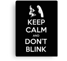 Keep Khan And Don't Blink - Tshirts & Hoodies Canvas Print