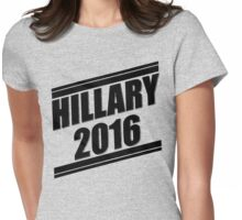 Hillary Stripes [Black] Womens Fitted T-Shirt