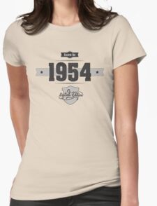 Born in 1954 Womens Fitted T-Shirt