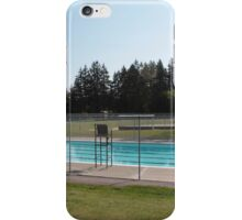 public swimming pool in a park, Surrey, BC, Canada iPhone Case/Skin