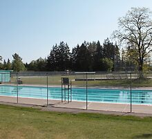 public swimming pool in a park, Surrey, BC, Canada by naturematters
