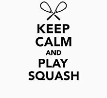 Keep calm and play Squash Unisex T-Shirt