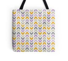 Patterned Arrowhead Chevron Tote Bag