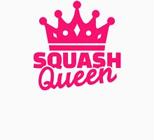 Squash Queen Womens Fitted T-Shirt