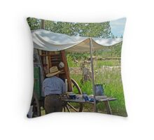 Real Chuckwagon Throw Pillow