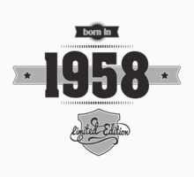 Born in 1958 Kids Clothes