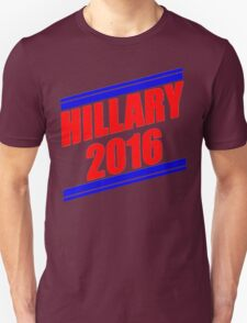 Hillary Stripes [Red&Blue] Unisex T-Shirt