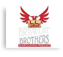 Brawling Brothers Design 1 Canvas Print