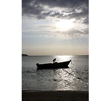 In summer, the song sings itself... Photographic Print