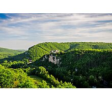 Chateau Bruniquel Photographic Print
