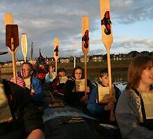 Sunset Salute by Fiona MacNab
