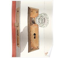 Glass Door Knob and Passage Lock Revisited Poster