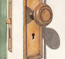 Emily's Door Knob by Ken Powers