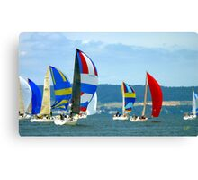 Race Week 091a Canvas Print
