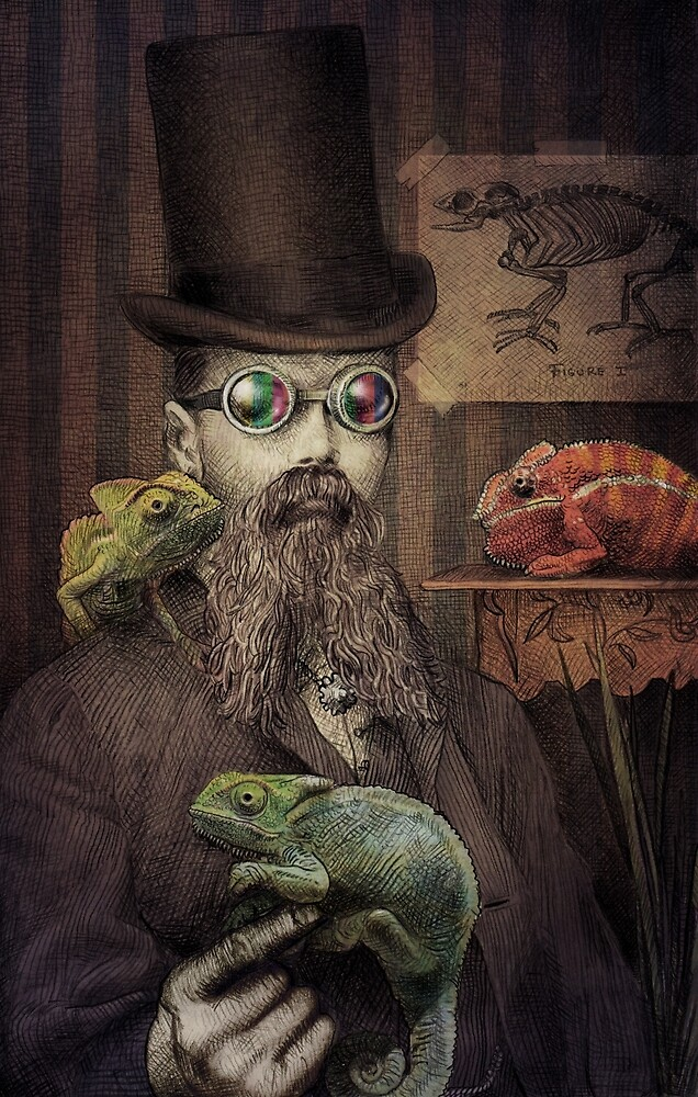 The Chameleon Collector by Eric Fan
