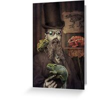 The Chameleon Collector Greeting Card