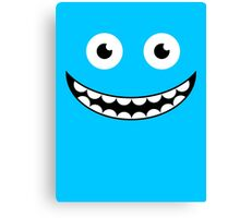 Blue Smile Canvas Print