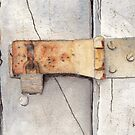 Garage Lock Number Two by Ken Powers