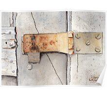 Garage Lock Number Two Poster
