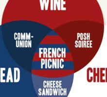 French Picnic Sticker