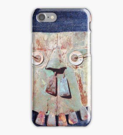 Aztec sun iPhone Case/Skin