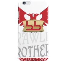 Brawling Brothers Design 1 iPhone Case/Skin