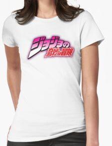 JoJo's Bizarre Adventure Womens Fitted T-Shirt
