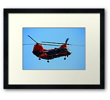 Training The Marines Framed Print